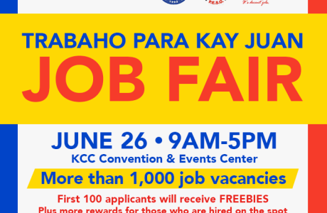 KCC Mall of Gensan conducts their biggest Job Fair ever: Trabaho Para Kay Juan