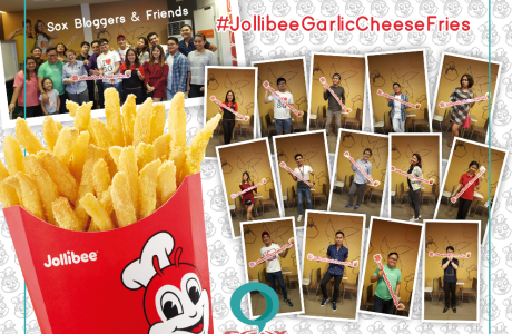 Jollibee Crispy Flavored Fries in Cheese & Garlic now available in SoCCSkSarGen