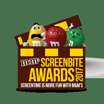 M&M's Screenbite Awards Logo