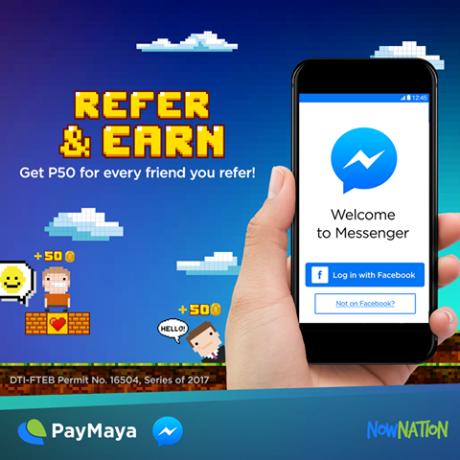 Paymaya refer & earn