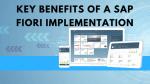 Key Benefits of a SAP Fiori Implementation