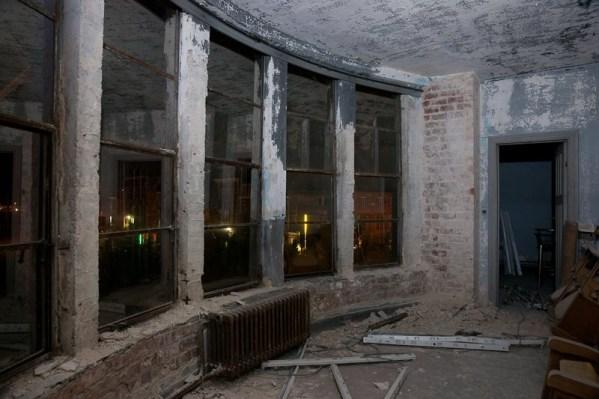 De voormalige lobby, © onbekend.