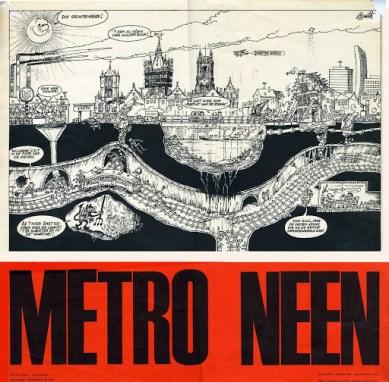 Affiche Metro neen