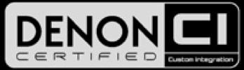 Denon Certified Logo