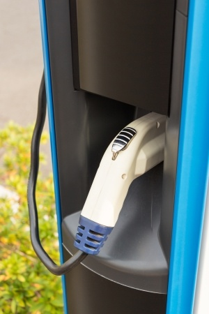 Electric car charger installed in San Ramon