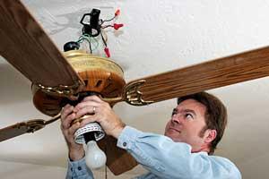 Danville Ceiling Fan installation but GENTEC Electricians