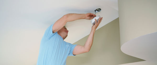 Smoke Detector installation from Pleasant Hill Electrician
