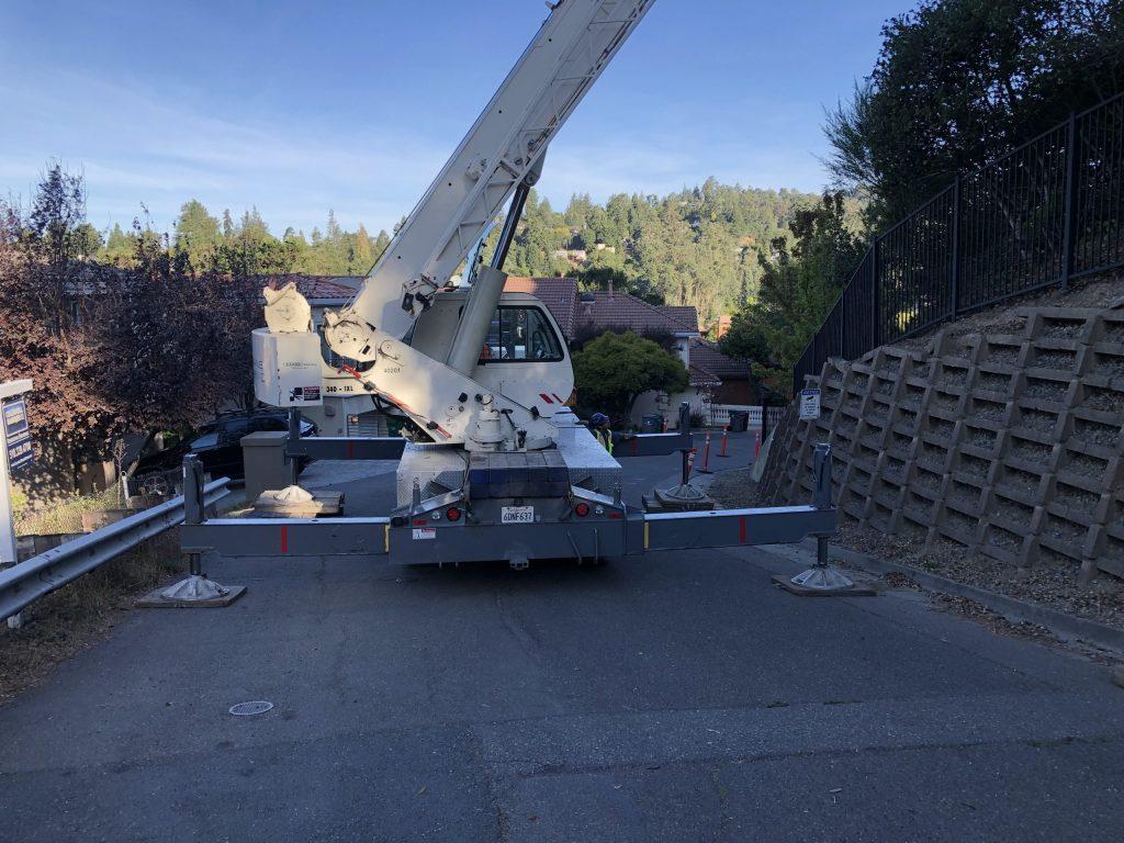 Crane for Generator