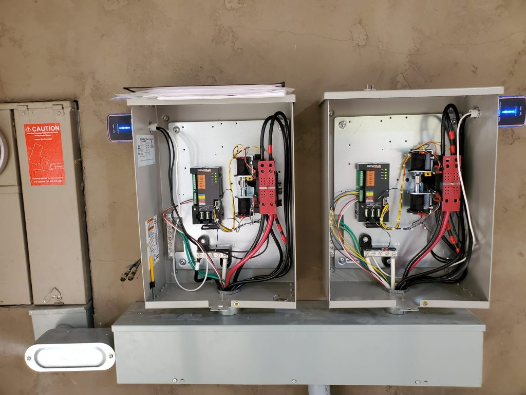 Generator Breaker Boxes Outside