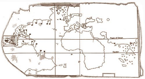 Map_Juan_de_la_Cosa_outline_Davies_1976