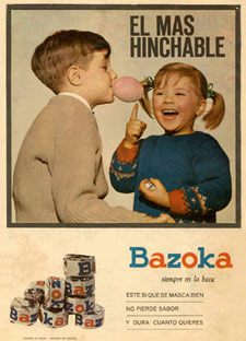 Chicles_Bazoka_1964