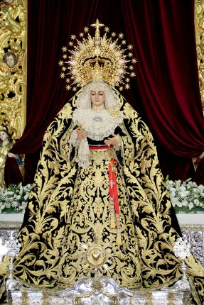 Alcalá del Río celebró el Aniversario de la Coronación de la Virgen de los Dolores (2)