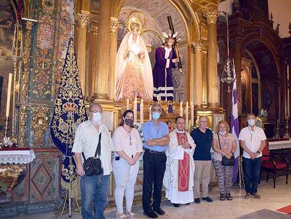José María Campos Peña, nuevo director espiritual del Nazareno de Alcalá del Río (1)