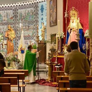 Un nuevo puñal de Ramón León para la Virgen del Auxilio (1)