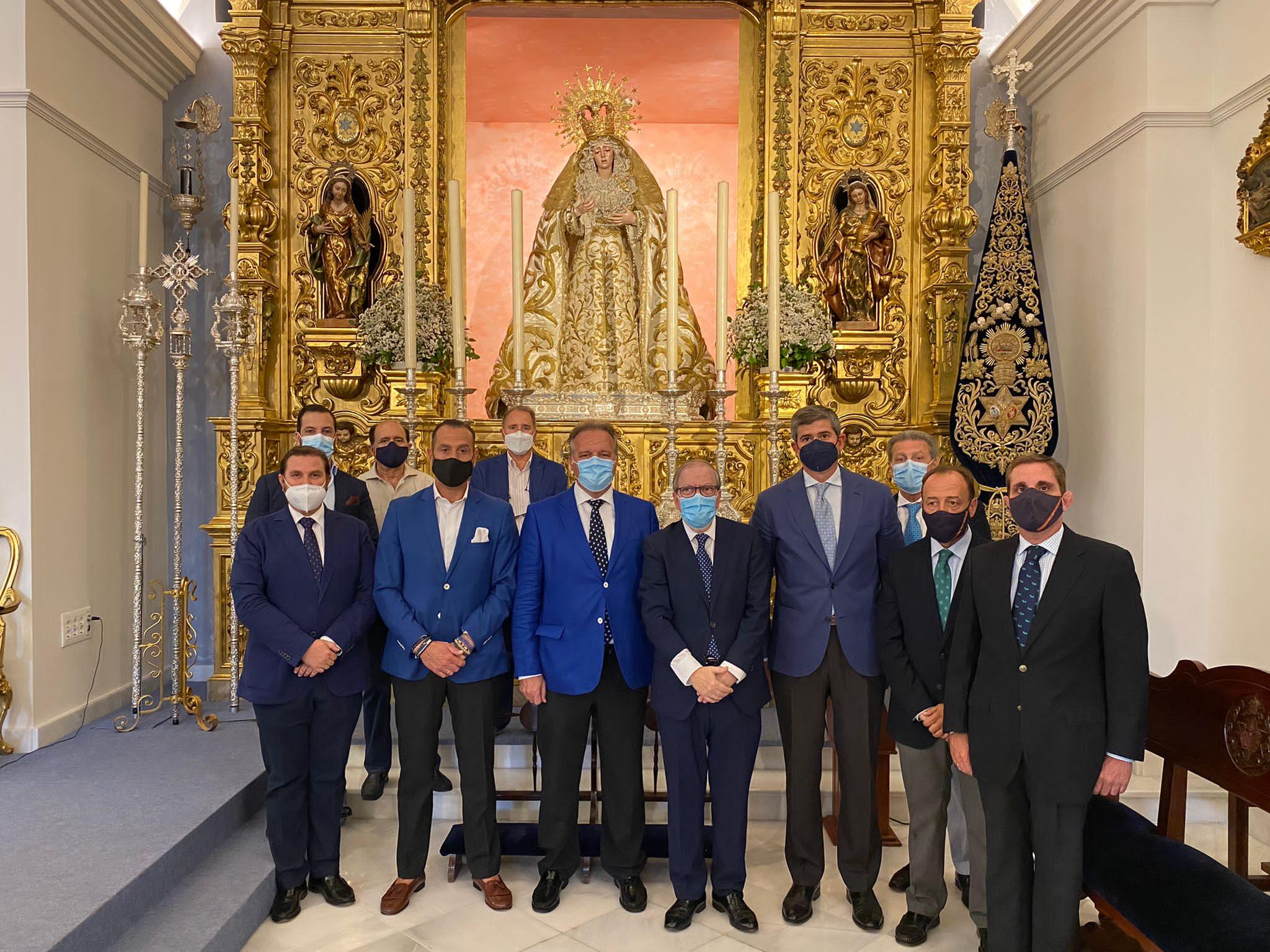 La Estrella de la Ilusión de la Cabalgata del Ateneo de Sevilla se volverá a coronar ante la Virgen de la Estrella
