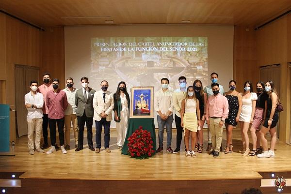Presentado el cartel de la Función al Cristo de la Vera Cruz de Tocina