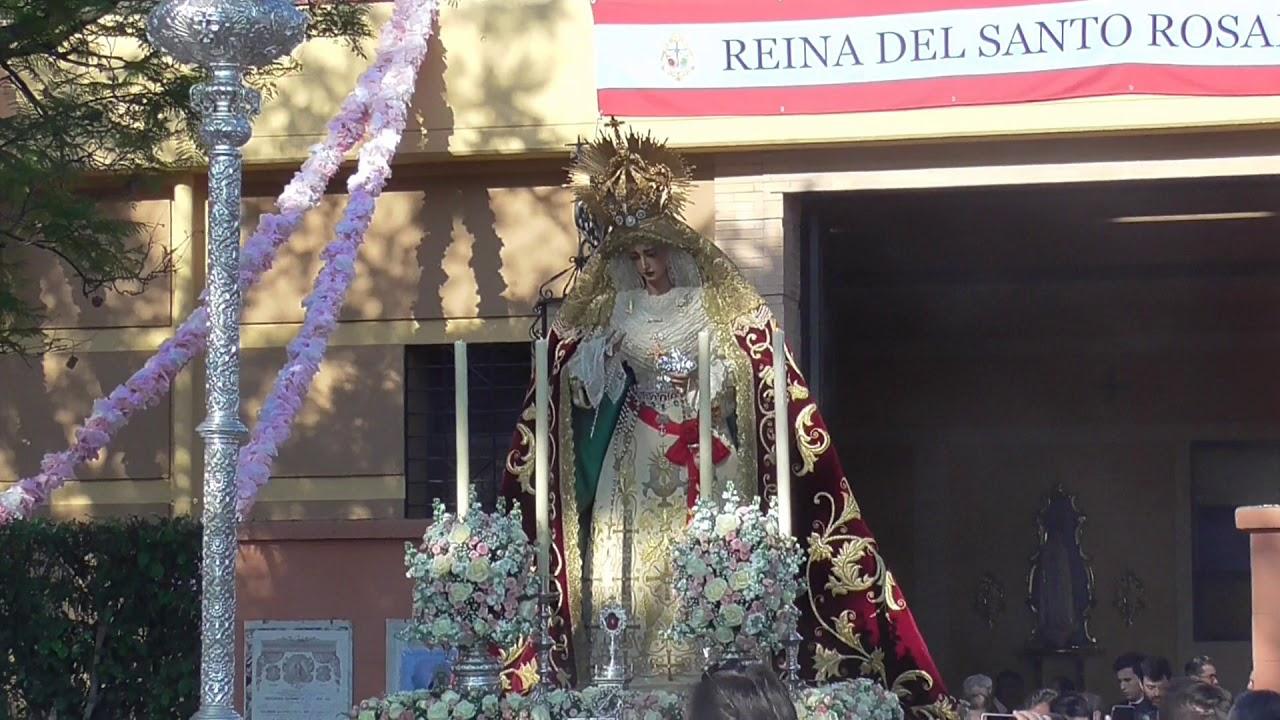 La Virgen del Rosario de la Milagrosa visitará San Juan de Dios en su Rosario anual y regresará acompañada de la Banda de la Cruz Roja
