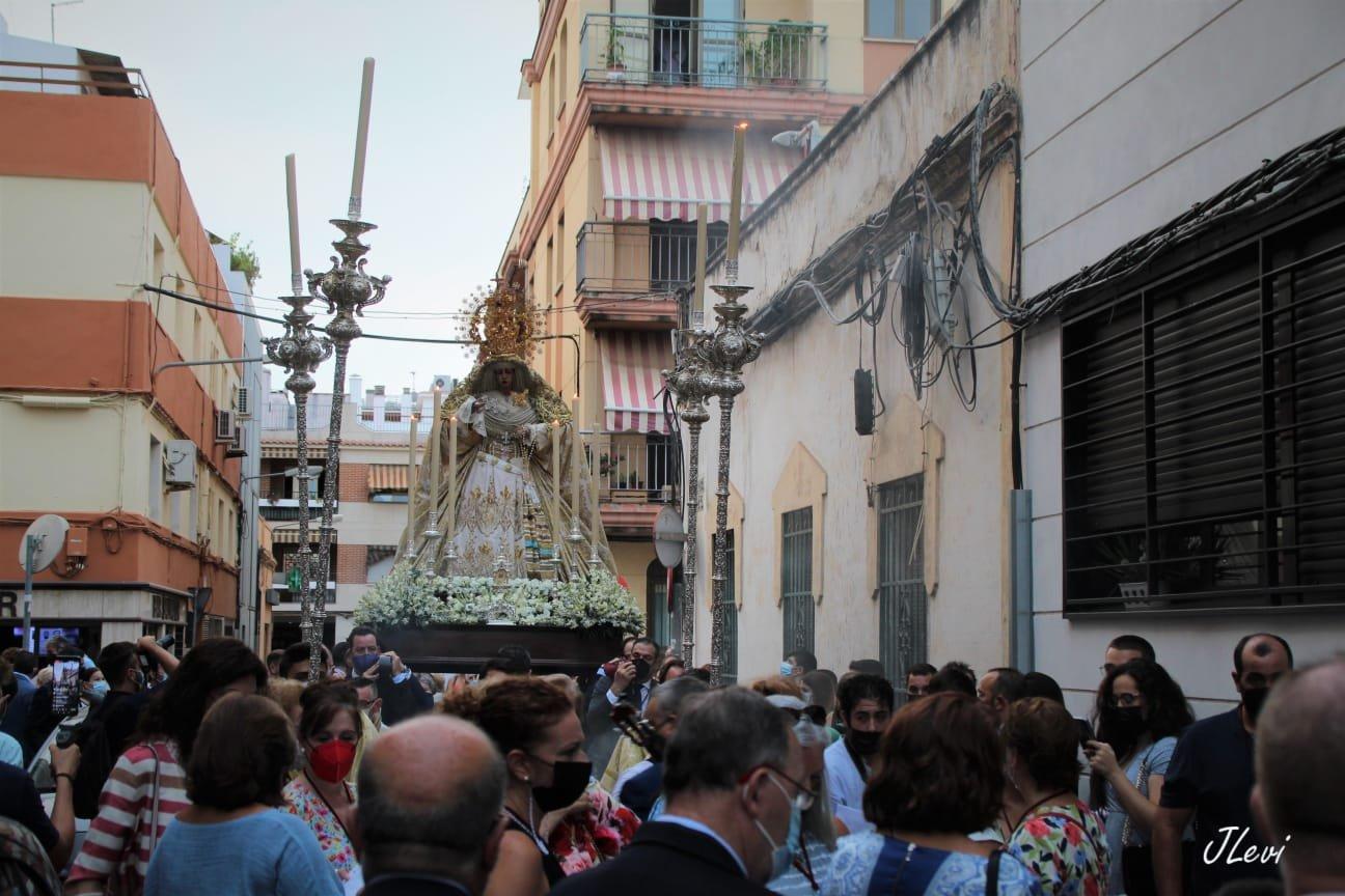 La Estrella, la primera Virgen en recorrer las calles de Córdoba tras obtener el permiso del Ayuntamiento