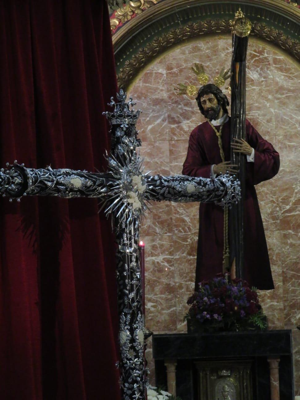 Así es la nueva cruz para el Señor de los Reyes de la Vera Cruz