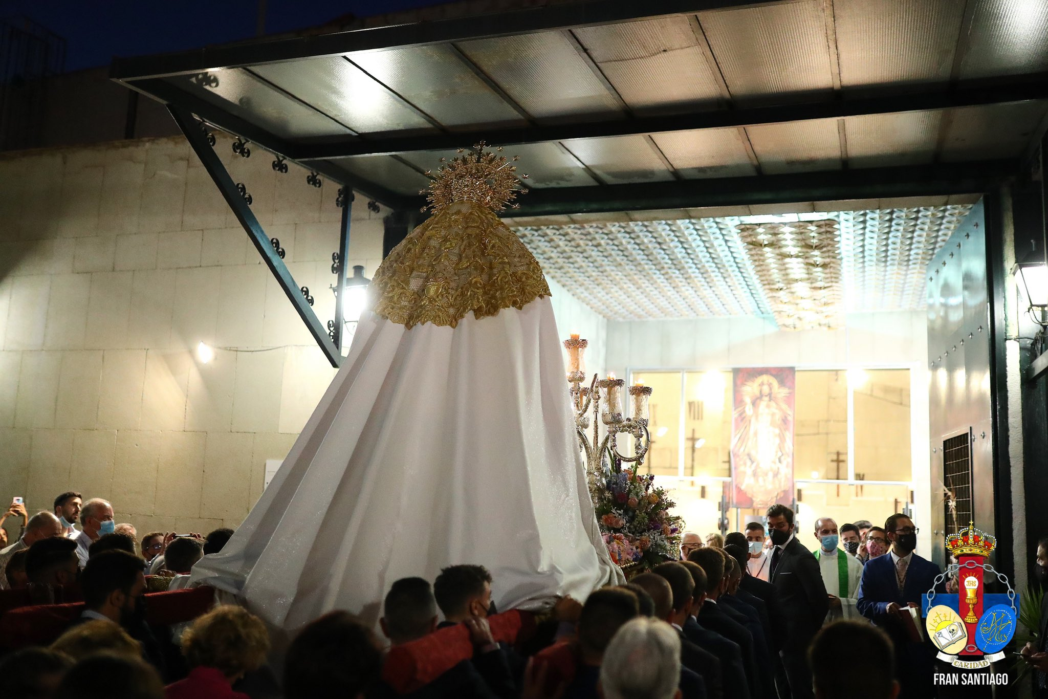 La Virgen del Rosario recorrió las calles de San Pablo