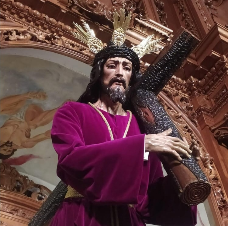 La Hermandad del Nazareno de la Algaba registra la Imagen del Señor