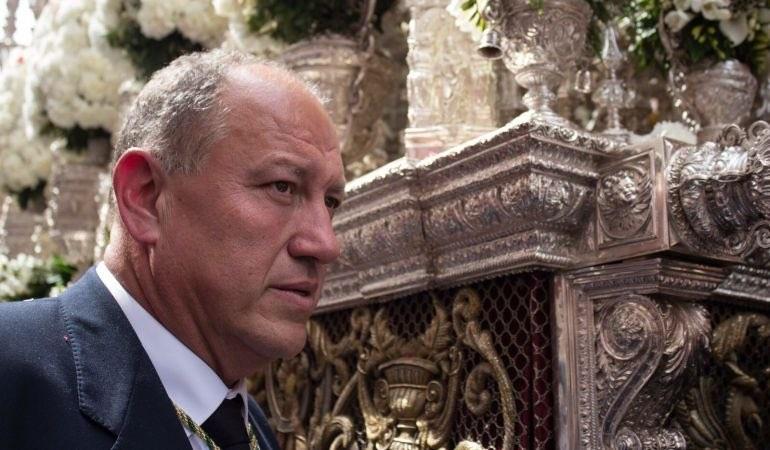 Antonio Santiago será el capataz elegido por Santiago Álvarez si gana las elecciones de la Macarena