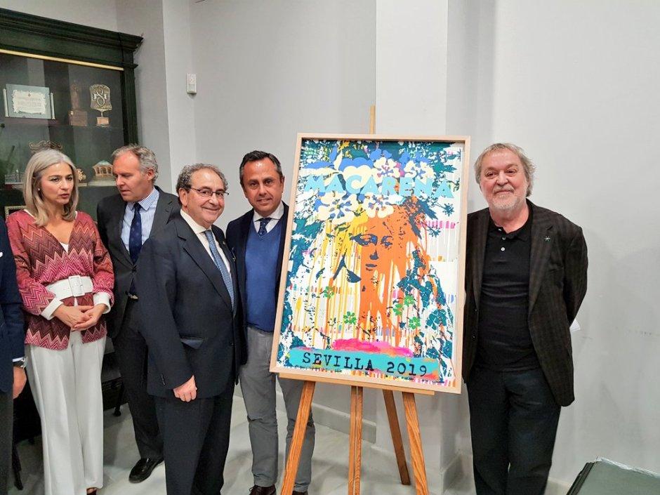 Manolo Cuervo realizará el cartel de la Semana Santa de Sevilla 2022