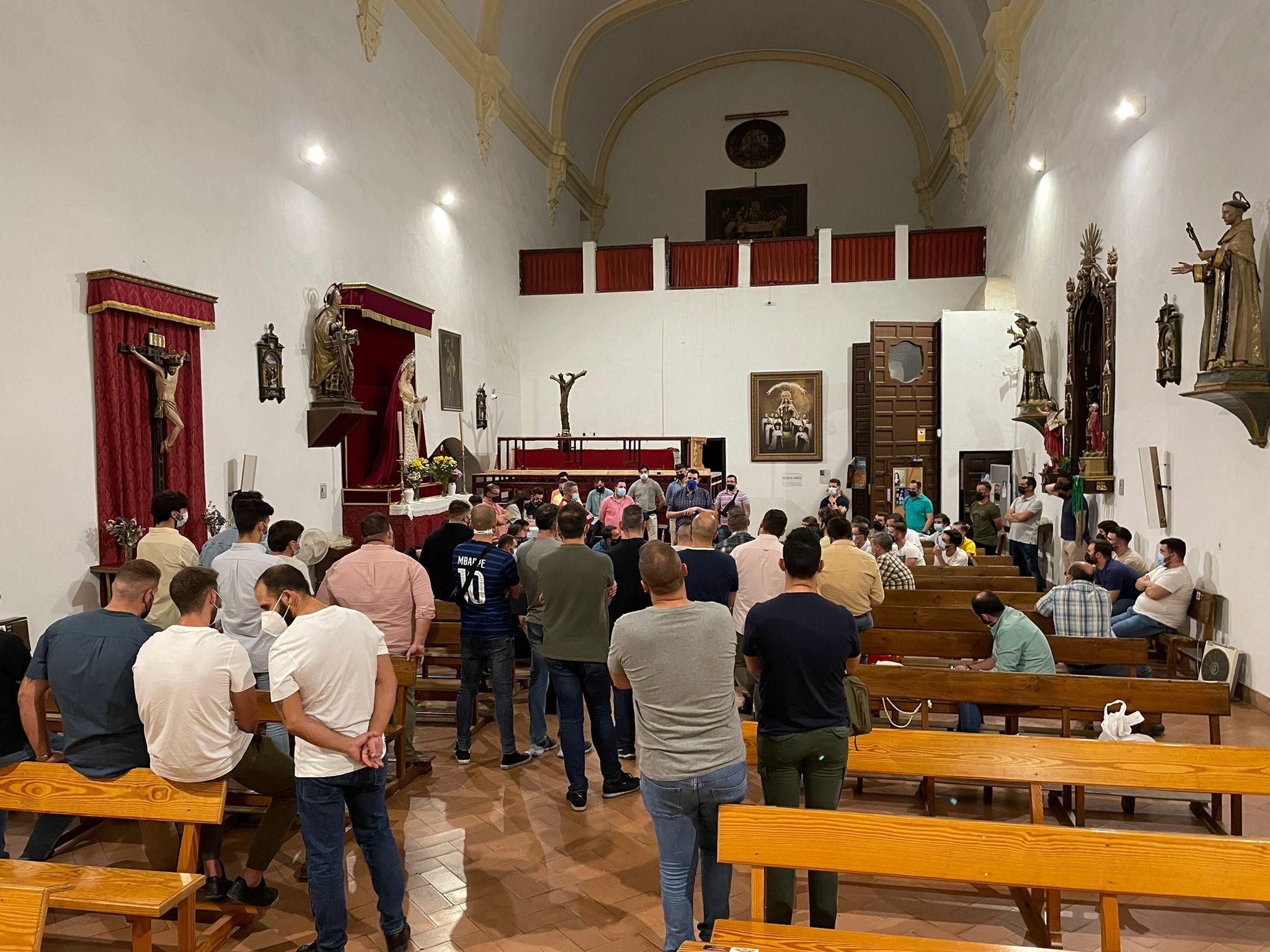 Juan Horacio de la Rosa y Jesús Ortigosa mandarán a los 80 costaleros que serán partícipes de la histórica primera salida procesional de Nuestro Padre Jesús de la Salud de Puerta Nueva