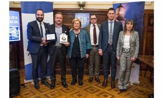 Premio Gianneschi: Enrico Ciacchini con la famiglia Gianneschi