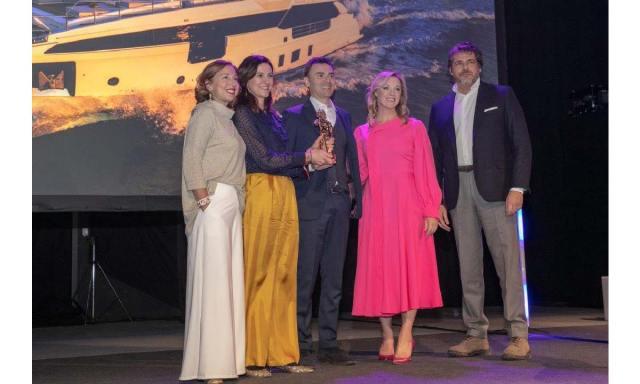 Cortina 2019, la premiazione di Azimut Grande 32M
