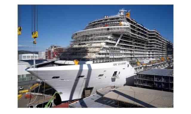 Fincantieri: Msc Seashore
