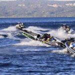 Pescatori sportivi in gara