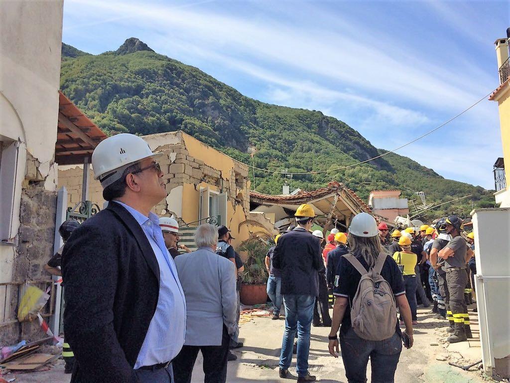 Terremoto Ischia: prorogata l'emergenza. Parla il Commissario Grimaldi.