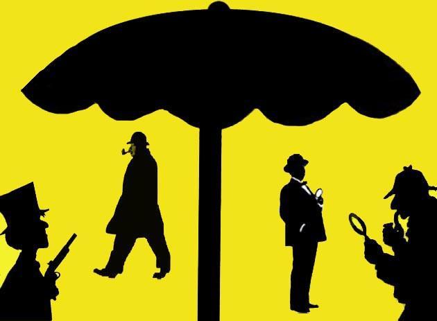 Gialli sotto l'ombrellone