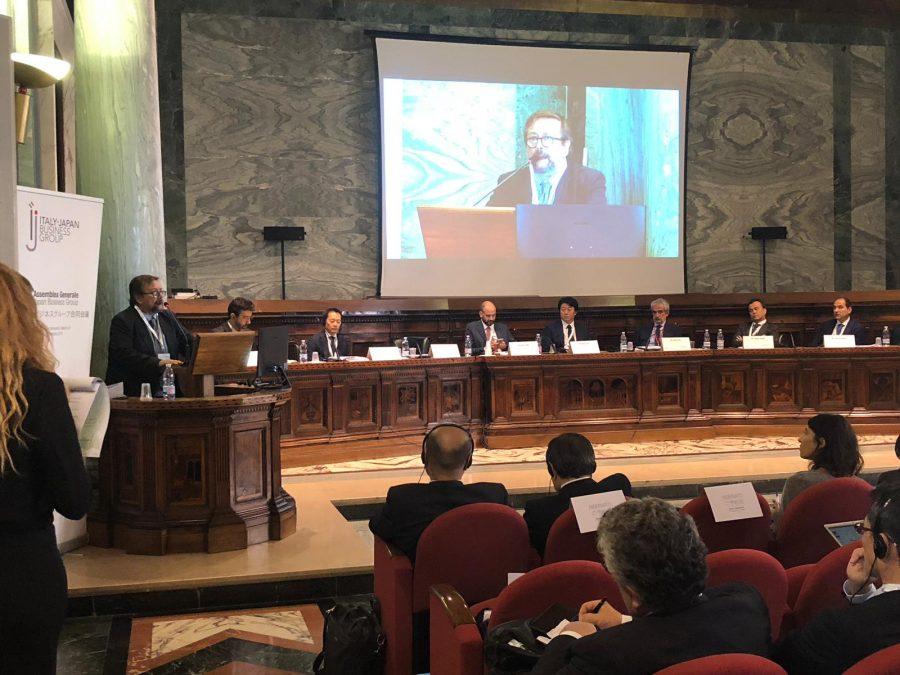 Il forum sul commercio tra Italia e Giappone