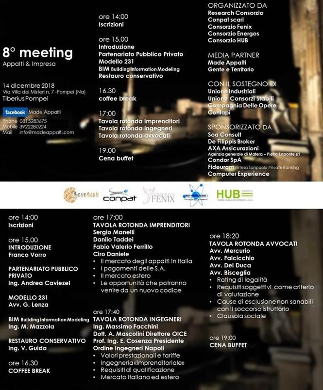 8° meeting Appalti e Imprese