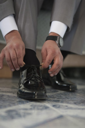 Abito uomo e scarpe