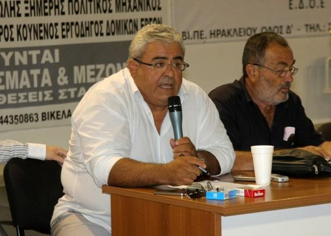 Μανταδάκης: «Ο φάκελος του ΟΦΗ είναι από τους πιο πλήρεις»