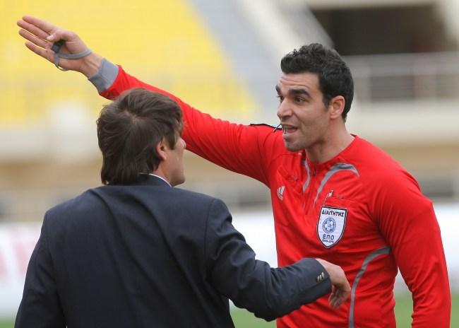 Διαιτητές Σούπερ Λιγκ στην Football League, ο Κωνσταντινέας στο Ηράκλειο