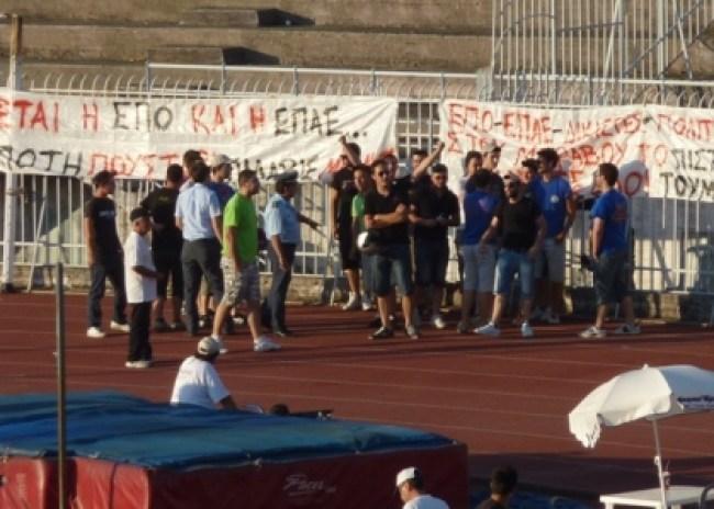 Διέκοψαν το Πανελλήνιο Πρωτάθλημα Στίβου οι Σακαφλιάδες