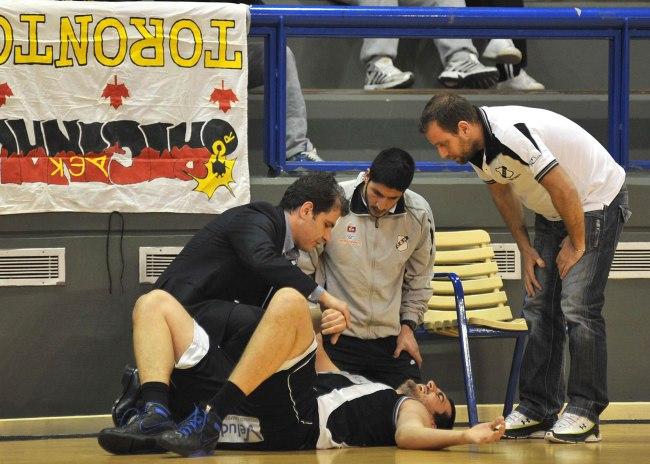 Φόβοι για σοβαρό τραυματισμό του Τουντζιαράκη!