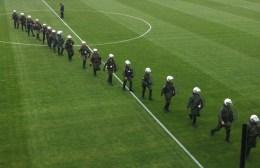 Διάψευση Αυγενάκη για μείωση παρουσίας της Αστυνομίας στα γήπεδα
