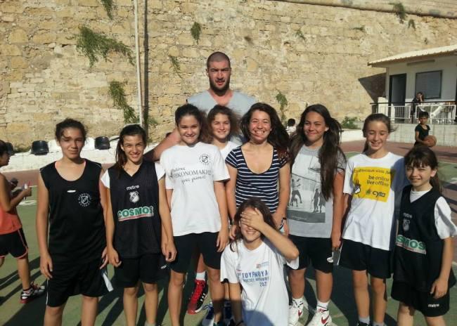 Αστέρια του ελληνικού μπάσκετ στην ακαδημία του ΟΦΗ! (fotos)