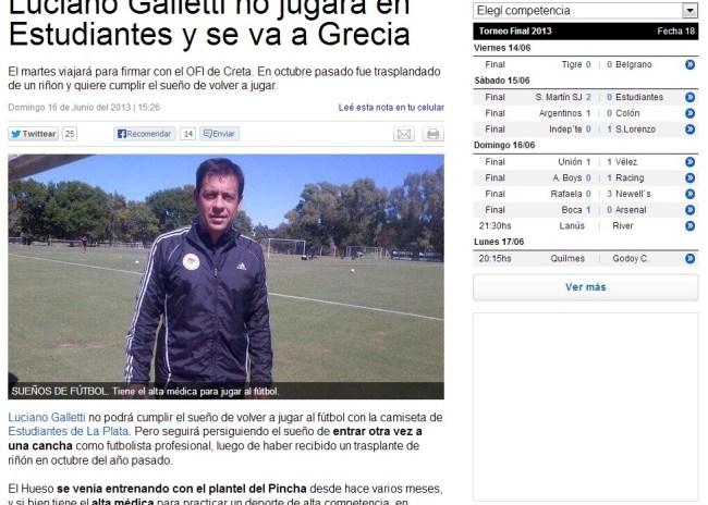 Σε Αργεντινή και Ευρώπη η μεταγραφή του Γκαλέτι στον ΟΦΗ!
