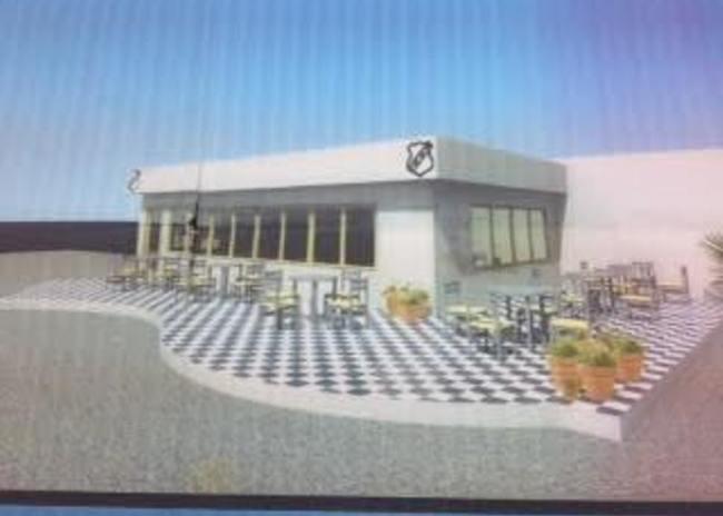 Kατασκευάζει αναψυκτήριο έξω από το ΒΑΚ ο Ερασιτέχνης ΟΦΗ