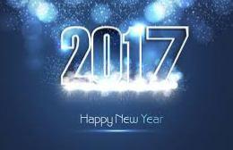 2017 ευχές σε όλο τον κόσμο!