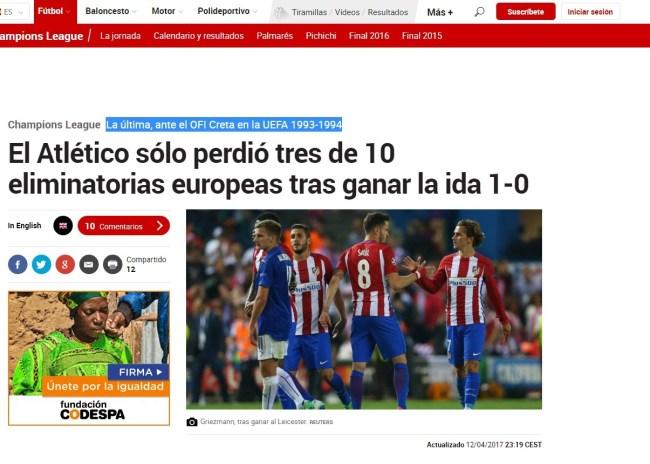 """Ο """"φόβος"""" του ΟΦΗ ακόμα μνημονεύεται στην Μαδρίτη"""