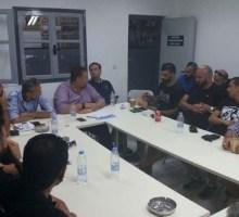 Συνάντηση γνωριμίας Τσάλου – οργανωμένων