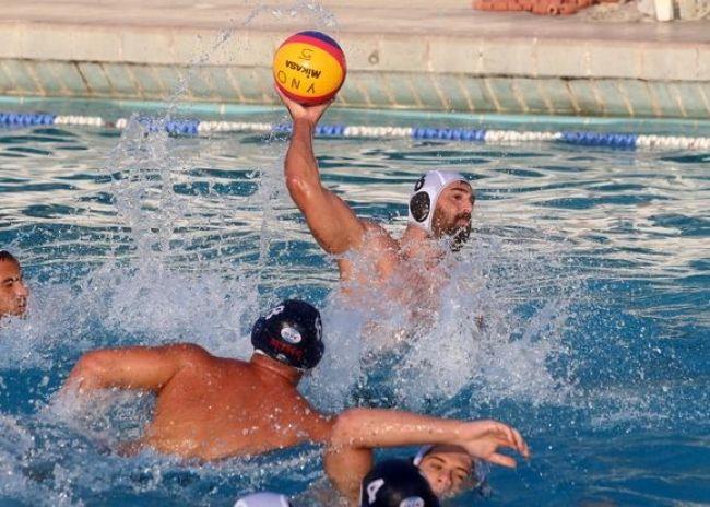 Ο Ολυμπιακός στο κολυμβητήριο Ηρακλείου