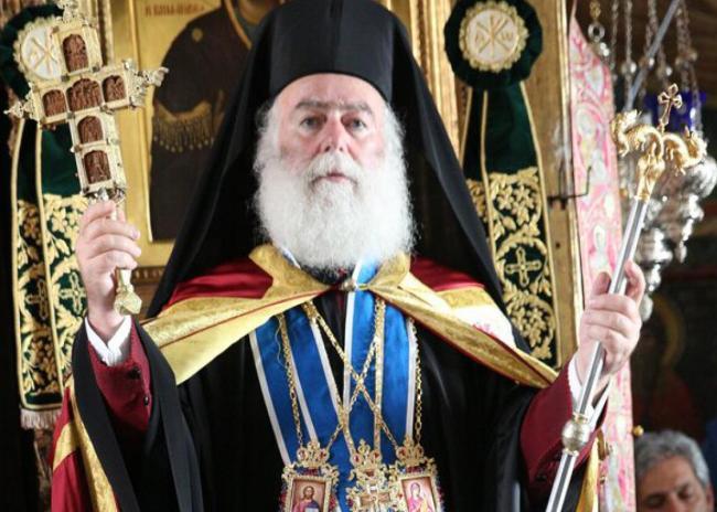 Το ιδιαίτερο δώρο στον Πατριάρχη Αλεξανδρείας